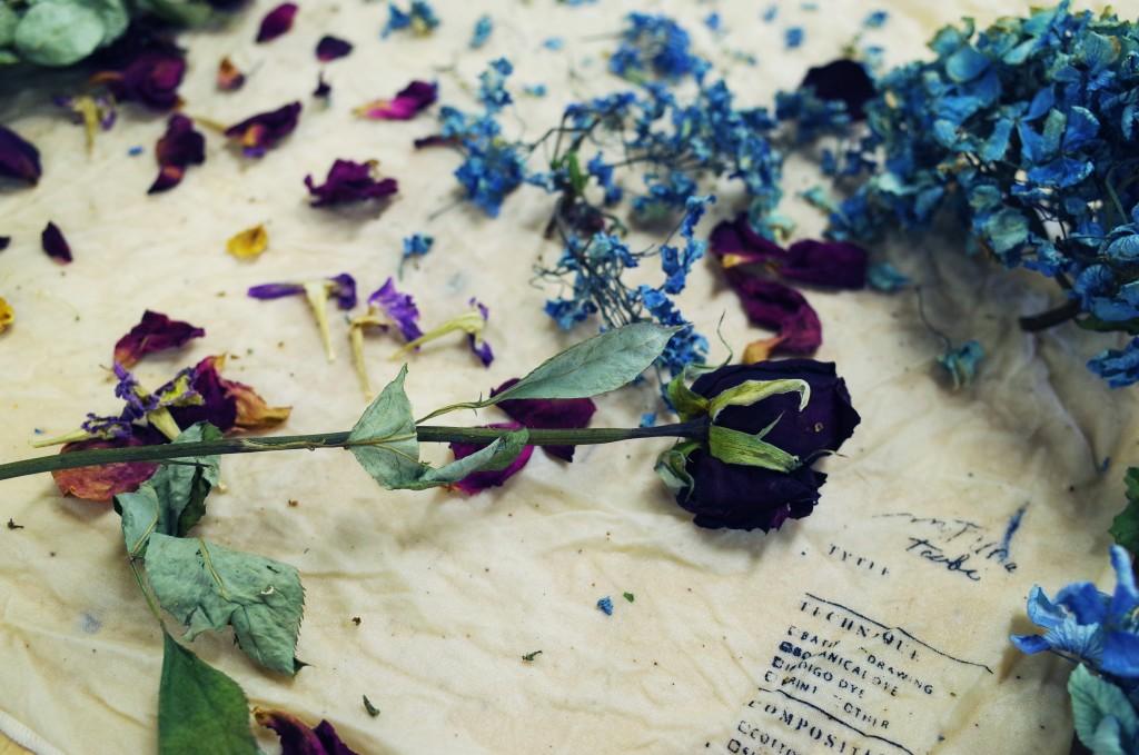 花びら染め2